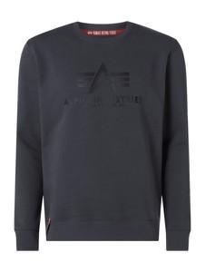 Bluza Alpha Industries w stylu casual z nadrukiem