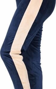 Granatowe spodnie MijaCulture z dresówki