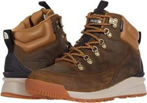 Buty zimowe The North Face sznurowane w sportowym stylu