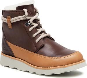 Buty dziecięce zimowe Clarks dla chłopców