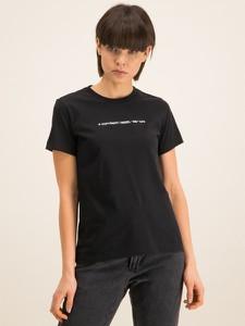 T-shirt Diesel z krótkim rękawem z okrągłym dekoltem