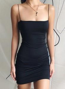 Czarna sukienka Sandbella bodycon