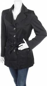 Czarny płaszcz Rockmans w stylu casual