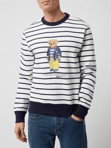 Bluza POLO RALPH LAUREN z nadrukiem w młodzieżowym stylu z bawełny