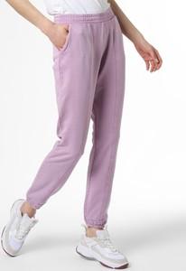 Fioletowe spodnie Only z dresówki