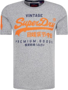 T-shirt Superdry w młodzieżowym stylu z krótkim rękawem