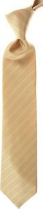 Żółty krawat Stefano Ricci