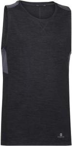 Czarna koszulka dziecięca Domyos bez rękawów
