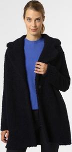 Granatowy płaszcz Marc Cain z wełny w stylu casual
