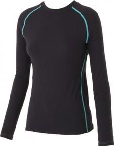 Czarna koszulka dziecięca Surfanic z bawełny dla dziewczynek