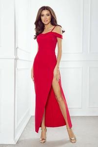 Czerwona sukienka Imesia maxi