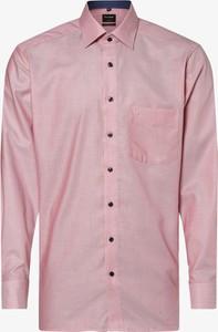 Różowa koszula Olymp Luxor Modern Fit z bawełny