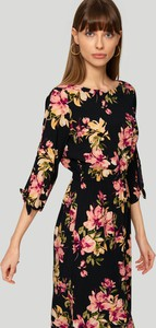 Sukienka Greenpoint w stylu boho z długim rękawem