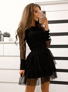 Sukienka Pakuten mini z tiulu