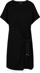 Sukienka Mytwin Twinset z okrągłym dekoltem