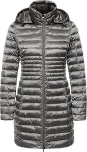 Srebrny płaszcz Geox