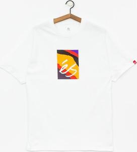 T-shirt Es z bawełny z krótkim rękawem