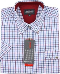 Koszula Dockland z krótkim rękawem z bawełny