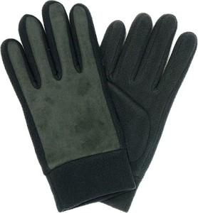 Zielone rękawiczki Pako Jeans w stylu casual