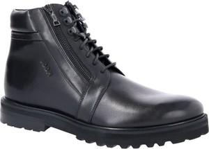 Czarne buty zimowe Joop!
