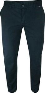 Granatowe spodnie Rigon w stylu casual
