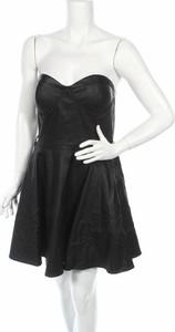 Czarna sukienka Suite Blanco bez rękawów mini