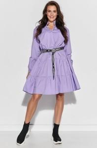 Fioletowa sukienka Numinou