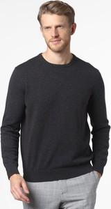Czarny sweter Andrew James z bawełny