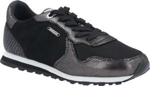 Sneakersy Pepe Jeans z płaską podeszwą sznurowane
