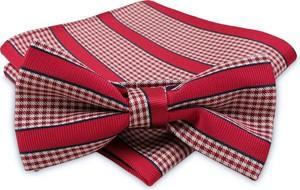 71c23bfb6fd8a3 czerwona muszka męska - stylowo i modnie z Allani