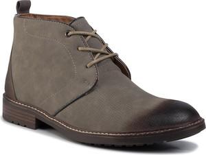 Buty zimowe Lanetti sznurowane