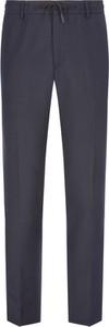 Granatowe spodnie sportowe Mason's z dresówki
