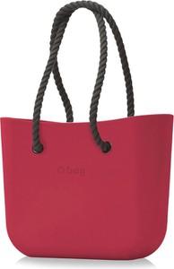 Różowa torebka O Bag duża do ręki