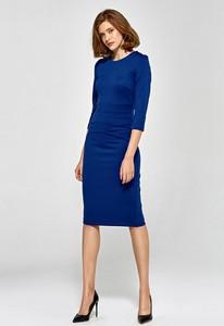 Sukienka Colett midi z długim rękawem