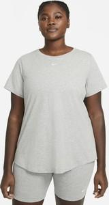 T-shirt Nike z bawełny z krótkim rękawem