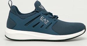 Niebieskie buty sportowe Emporio Armani
