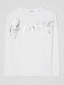 Bluzka dziecięca Guess z bawełny dla dziewczynek