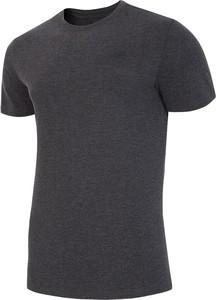 Czarny t-shirt 4F z bawełny