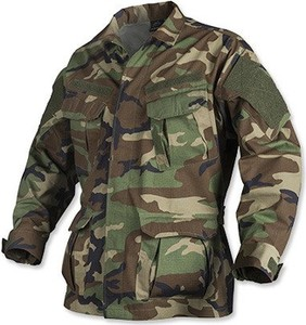 Brązowa bluza HELIKON-TEX z bawełny w militarnym stylu