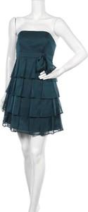 Zielona sukienka Marie Blanc mini bez rękawów