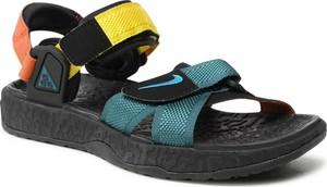 Sandały Nike ze skóry z klamrami