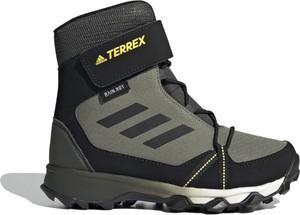 Czarne buty sportowe dziecięce Adidas z tkaniny