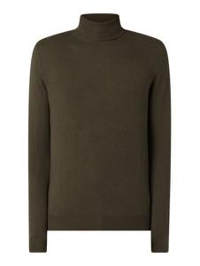 Zielony sweter Jack & Jones z bawełny w stylu casual