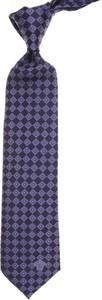 Granatowy krawat Gianni Versace