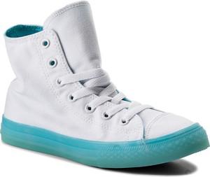 Sneakersy converse - ctas hi white/bleached aqua