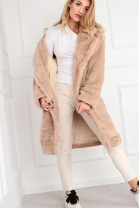 Ptakmoda.com płaszcz z imitacji futra