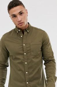 Koszula Asos Design z długim rękawem z jeansu