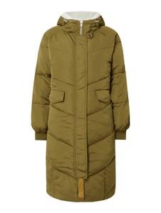 Zielony płaszcz Numph w stylu casual
