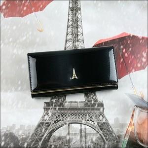Granatowy portfel Paris Design
