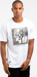 T-shirt Outsidewear z krótkim rękawem z bawełny z nadrukiem